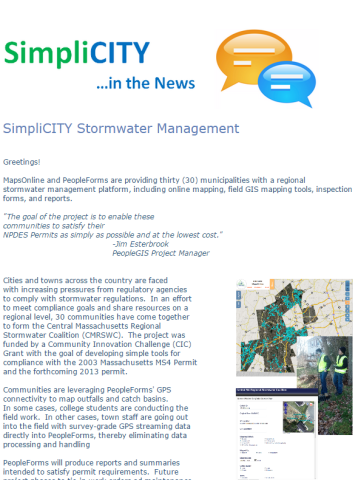Simplicity Storm Water Management